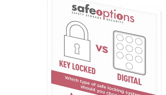 Key Locking vs Digital Safes Infographic - Which Should You Choose?
