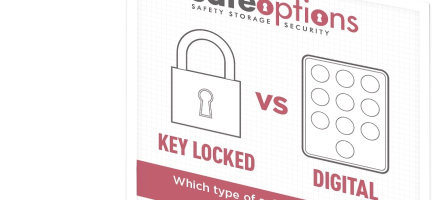 Key Locking vs Digital Safes Infographic