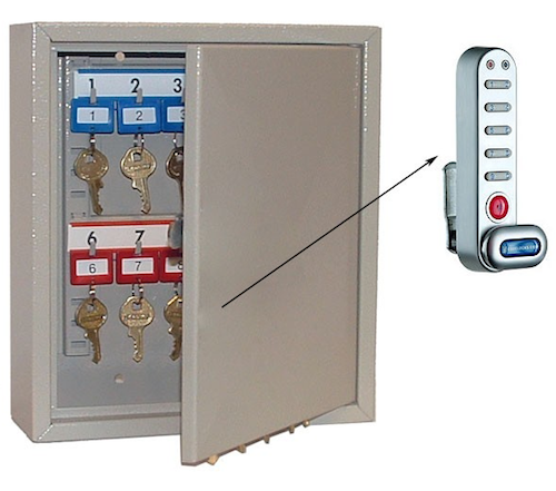 Electronic Key Cabinet 20 keys