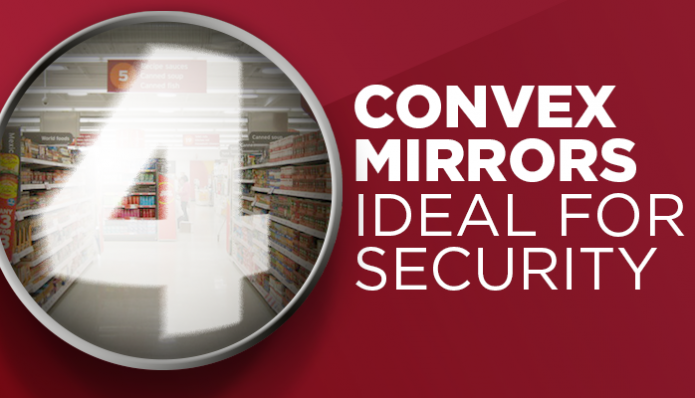 4 Convex Mirrors Ideal for Security