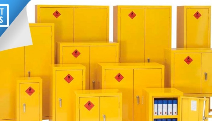 Review: Bedford Flammable 88F894 Hazardous Substance COSHH double door cabinet