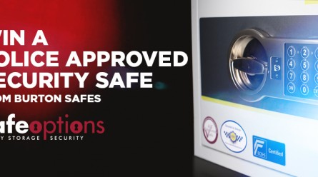 Win a Police Approved Security Safe Burton Eurovault Aver S2 1E