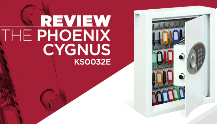 Review - Phoenix Cygnus 48 Hook Wall Key Cabinet with Digital Lock