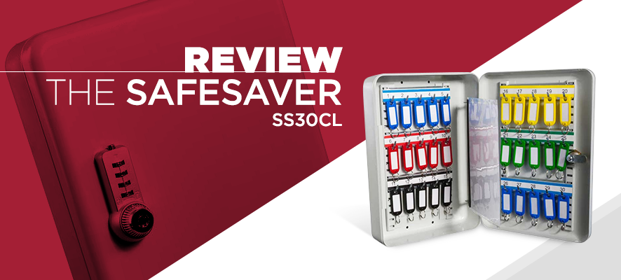 Review of Safe Saver Key Systems Cabinet 30 hooks Combination