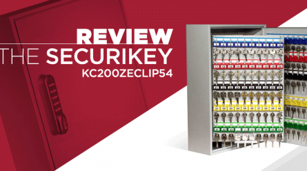 Key Cabinet Review of Securikey KC200ZECLIP54