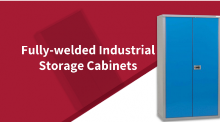 Why you should choose Bedford fully-welded industrial storage cabinets