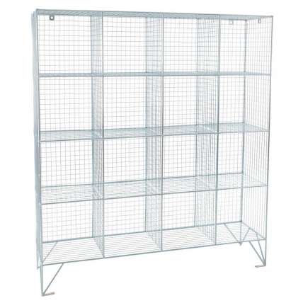 Open Bay Wire Mesh Storage