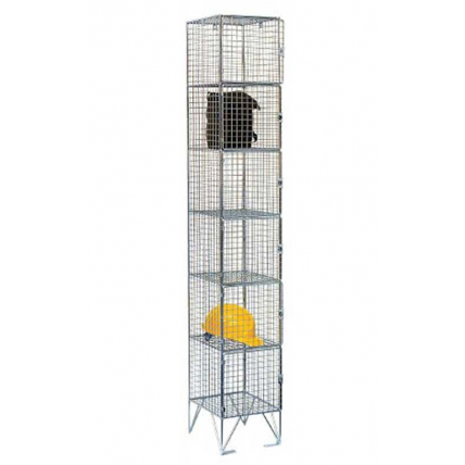 Wire Mesh Multi-Door Lockers