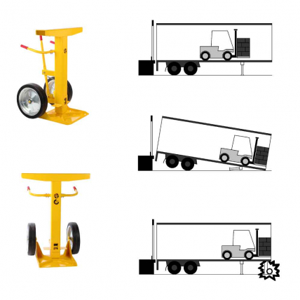 Crash Stop Trailer Stands