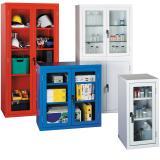 Bedford Glass Door Steel Cabinets