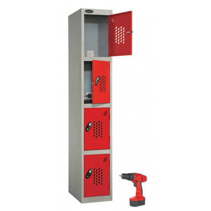 Probe Power Tool Recharging Lockers