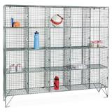 Wire Mesh Steel Lockers