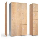 Woodgrain Laminate Door Lockers