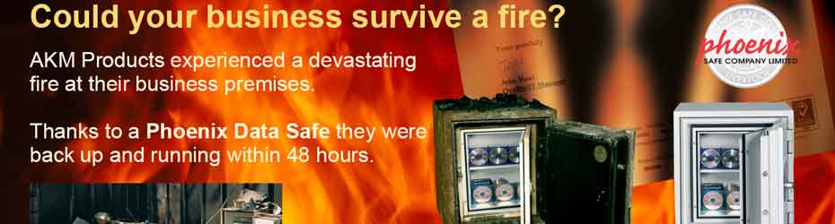Fire Data Safes - Backup Tapes