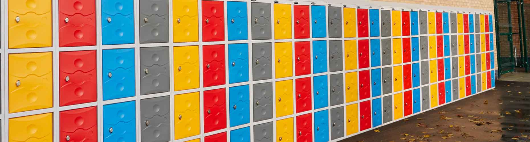 Plastic Outdoor Lockers