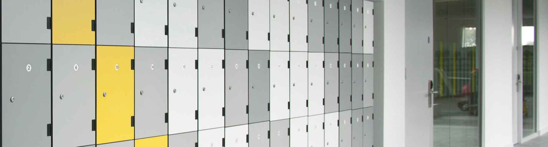 Laminate Dry Area Lockers