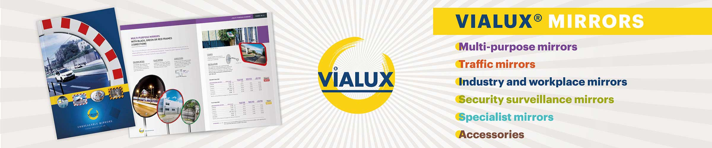 Vialux Safety Mirrors