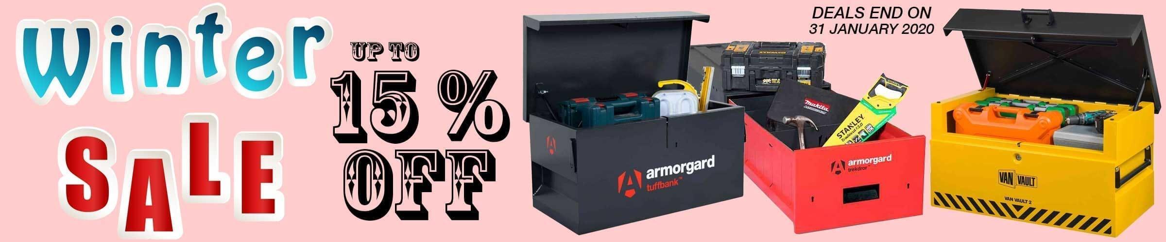 Site & Van Tool Box Sale