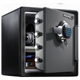 2 Hr Fire Water Digital Safe - Master Lock LTW-123GTC