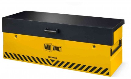 Van Vault Outback Tested Truck Security Storage Chest - closed