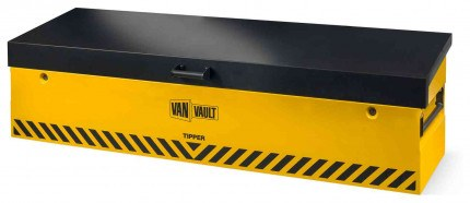 Van Vault Tipper Tested Truck Security Storage Chest - closed