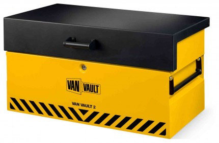 Van Vault 2 New Vehicle Storage Box - Security Tested - closed