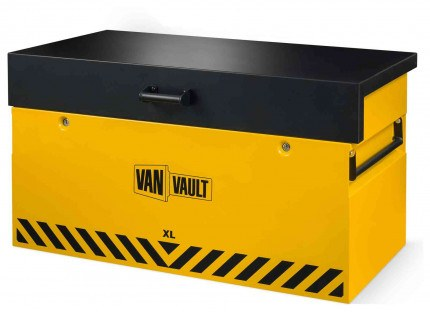 Van Vault XL:Large Van Security Tested Storage Chest - closed