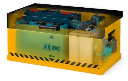 Van Vault Mobi - Vehicle Storage Box - Security Tested - x-ray image