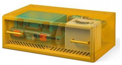 Van Vault Stacker XL Tested Security Drawer Locking Van Box - x-ray view