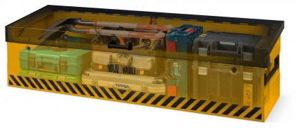 Van Vault Tipper Tested Truck Security Storage Chest - x-ray version