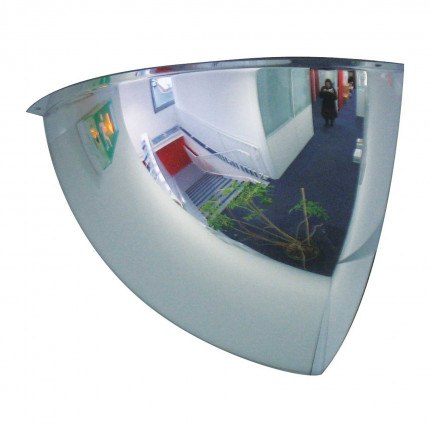 Vialux Acrylic 1/4 Dome Mirror 630mm