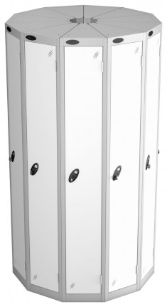 Probe Space Saving 11 Compartment Locker Pod