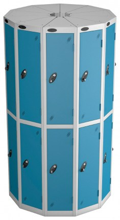 Probe Space Saving 22 Compartment Locker Pods