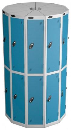 Probe Space Saving 22 Compartment Locker Pods