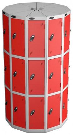 Probe Space Saving 33 Compartment Locker Pod