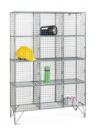 Robinson 12 Door Metal Wire Mesh 8mm Storage Locker