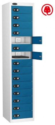 Probe Lapbox 15CHD Laptop Charging Locker 15 Door - blue
