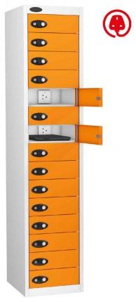 Probe Lapbox 15CHD Laptop Charging Locker 15 Door - orange