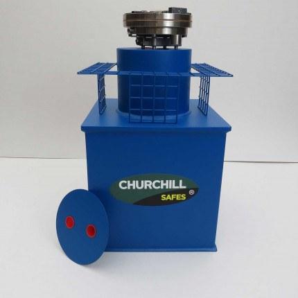 Churchill CS009 G2 £17,500 Rated Floor Security Safe