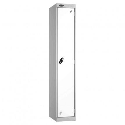Probe Expressbox 1 Door Locker Key Locking White