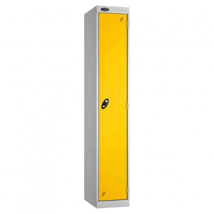 Probe Expressbox 1 Door Locker Key Locking Yellow