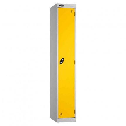 Probe Expressbox 1 Door Locker Padlock Hasp Yellow