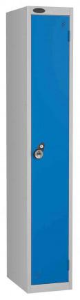 Probe 1 Door Combination Locking High Metal Locker blue