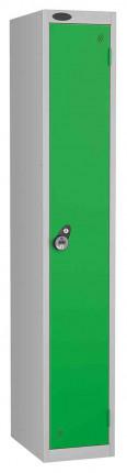 Probe 1 Door Combination Locking High Metal Locker Green