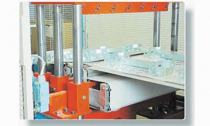 Industrial Safety Plexiglass Mirror 505 x 410 - Vialux 805