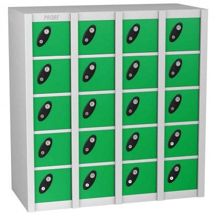 Probe Minibox 20 unit with green colour doors