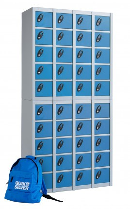 Probe Minibox 20 showing 2 x 20 units stacked giving 40 lockable compartments
