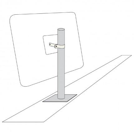 View-Minder 600mm - Optional Vertical Wall Post