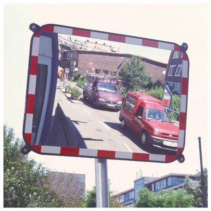 Convex Traffic Mirror Sekurit Glass 80x100cm - S-Compact 3