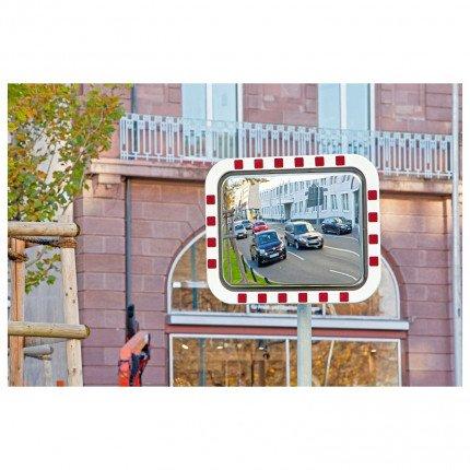 Durabel Lite Condensation Free Mirror 60x80cm Post Mounted Traffic Mirror